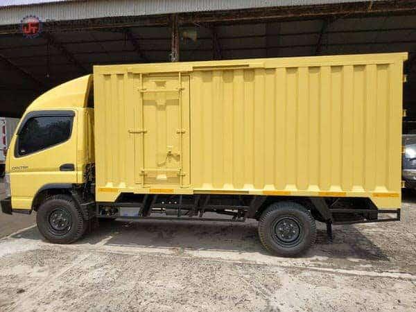 Box Besi Jakarta Famili Tehnik Karoseri Dengan Pintu Sliding dan Kanopi