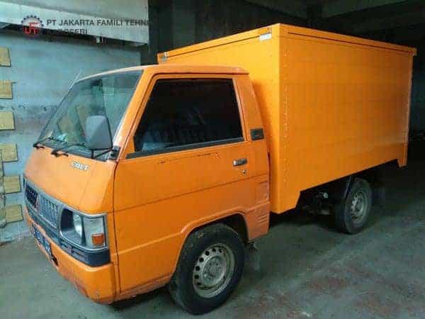 Box Alumunium untuk Mobil Pick Up Jakarta Famili Tehnik Karoseri
