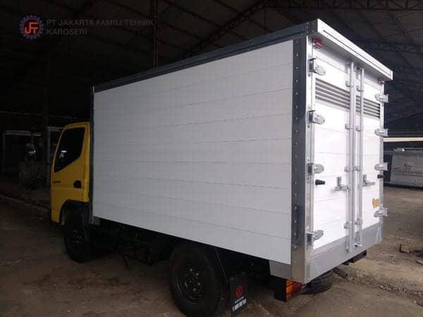 Box Alumunium Coating Jakarta Famili Tehnik Karoseri
